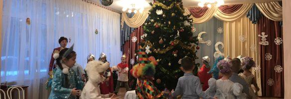 Новогодний праздник «В поисках бороды Деда Мороза»