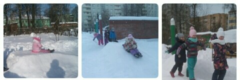 Зимние прогулки группы «Капелька»